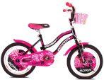 """Adria Fantasy 20"""" gyerek kerékpár Fekete-Rózsaszín"""