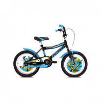 """Adria Rocker 20"""" gyerek kerékpár Fekete-Kék"""