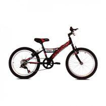 """Adria Stinger 20"""" gyerek kerékpár Fekete-Rózsaszín"""