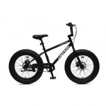 """Capriolo Fatboy 20"""" gyerek kerékpár Fekete"""