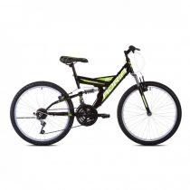 """Adria Dakota 24"""" gyerek kerékpár Fekete-Zöld"""