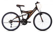 """Adria Dakota 24"""" gyerek kerékpár Fekete-Narancs"""