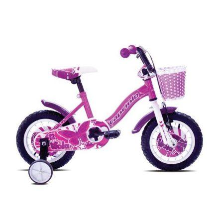 """Capriolo Viola 12"""" gyerek kerékpár Rózsaszín"""