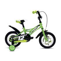 Capriolo Mustang 12 gyermek kerékpár zöld
