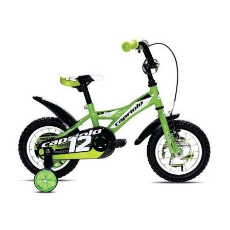 """Capriolo Mustang 12"""" gyerek kerékpár Zöld"""