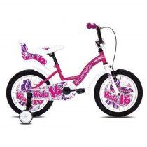 Capriolo Viola 16 gyermek kerékpár rózsaszín