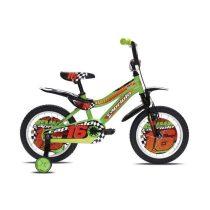 """Capriolo Kid 16"""" gyerek kerékpár Zöld"""