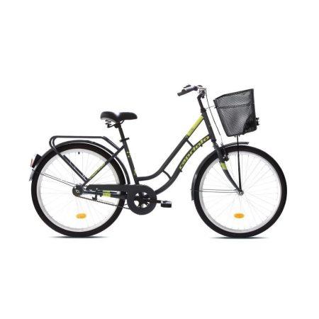 Capriolo Picnic női városi kerékpár Grafit-Zöld