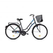 Capriolo Picnic női városi kerékpár Grafit-Kék