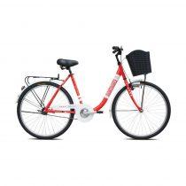 Adria Melody női városi kerékpár Piros