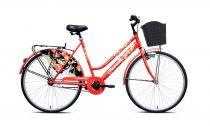 Adria Jasmin női városi kerékpár Piros