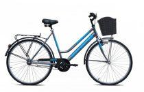 Adria Tracer női városi kerékpár Grafit-Kék