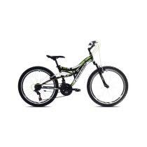 """Capriolo CTX 240 24"""" gyerek kerékpár Fekete-Fehér-Zöld"""