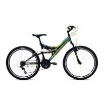 Capriolo CTX 260 kerékpár Fekete-Zöld-Kék