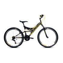 Capriolo CTX 260 kerékpár Fekete-Sárga