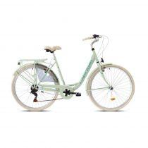 Capriolo Diana 6 sebességes női városi kerékpár mentazöld