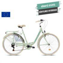 """Capriolo Diana 6 sebességes női városi kerékpár 19"""" Mentazöld"""