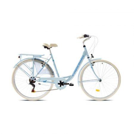 """Capriolo Diana 6 sebességes női városi kerékpár 19"""" Világoskék"""