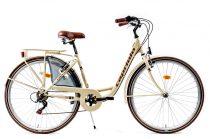 Capriolo Diana 6 sebességes női városi kerékpár krém
