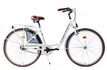 Capriolo Diana kontrás női városi kerékpár fehér