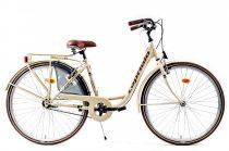 Capriolo Diana kontrás női városi kerékpár krém