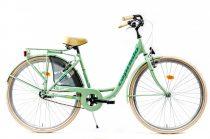 Capriolo Diana kontrás női városi kerékpár mentazöld