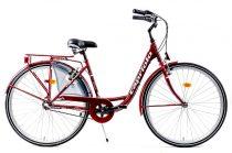 Capriolo Diana 3 sebességes női városi kerékpár bordó