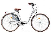 Capriolo Diana 3 sebességes női városi kerékpár fehér