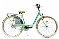 Capriolo Diana 3 sebességes női városi kerékpár mentazöld