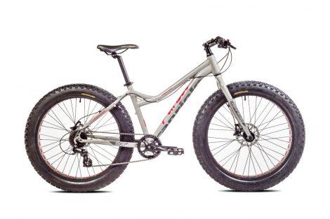 Capriolo Fatboy 26 alloy fatbike kerékpár Szürke