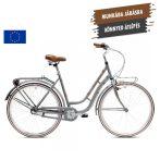 Capriolo Bianka női agyváltós városi kerékpár Szürke