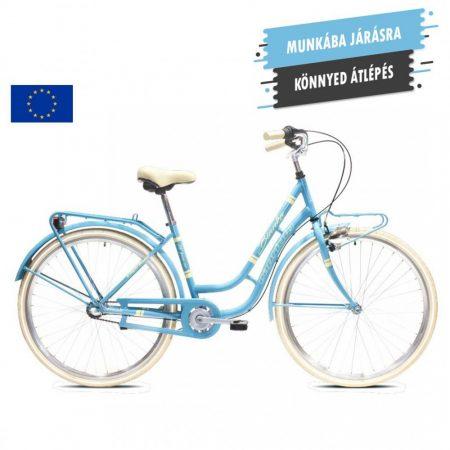 Capriolo Bianka női városi kerékpár Világoskék