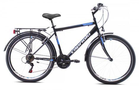 """Capriolo Metropolis 19"""" férfi városi kerékpár Fekete"""