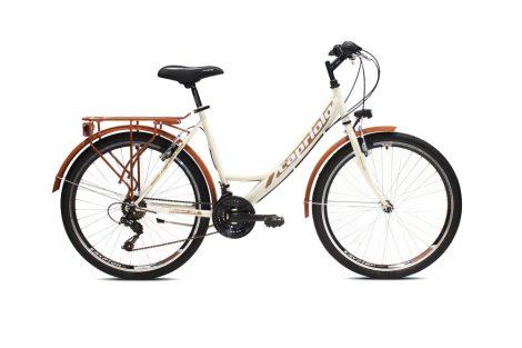 Capriolo Metropolis női városi kerékpár Krém