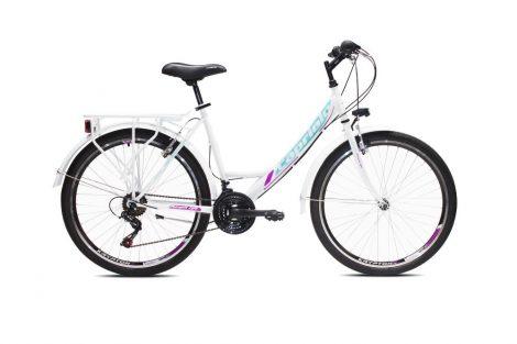 Capriolo Metropolis női városi kerékpár Fehér