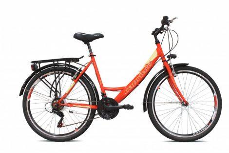 Capriolo Metropolis női városi kerékpár Piros