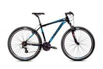 """Capriolo Level 9.1 29er kerékpár 21"""" Fekete-Kék"""