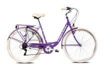 """Capriolo Diana 6 sebességes női városi kerékpár 20"""" Lila"""