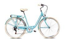 Capriolo Diana 6 sebességes női városi kerékpár világoskék