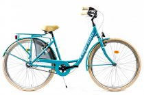 Capriolo Diana 3 sebességes női városi kerékpár világoskék