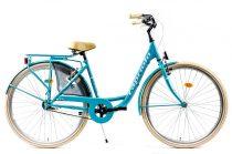 Capriolo Diana kontrás női városi kerékpár világoskék