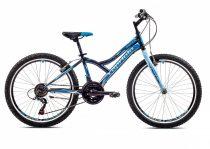 """Capriolo Diavolo 400 24"""" gyerek kerékpár Grafit-Kék"""
