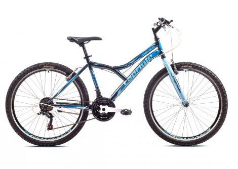 """Capriolo Diavolo 600 FS 26"""" férfi MTB kerékpár 19"""" Grafit-Kék"""