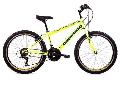 """Capriolo Rapide 240 24"""" gyerek kerékpár Sárga"""