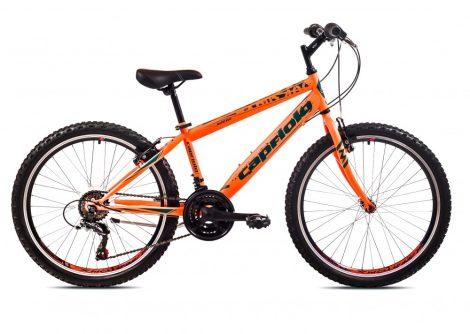"""Capriolo Rapide 240 24"""" gyerek kerékpár Narancs"""