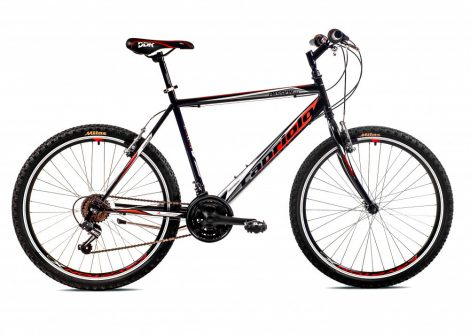 "Capriolo Passion Man 26"" férfi MTB kerékpár 21"" Fekete-Fehér-Piros"
