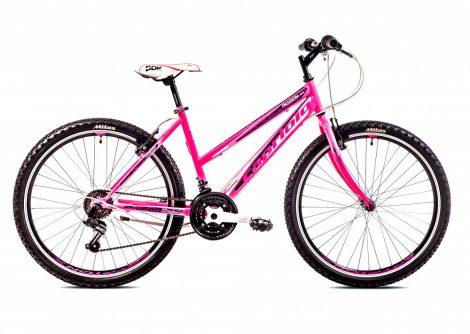 """Capriolo Passion Lady 26"""" női MTB kerékpár 19"""" Rózsaszín"""
