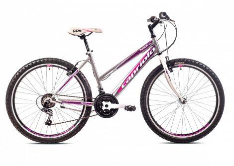 """Capriolo Passion Lady 26"""" női MTB kerékpár 17"""" Grafit-Rózsaszín"""