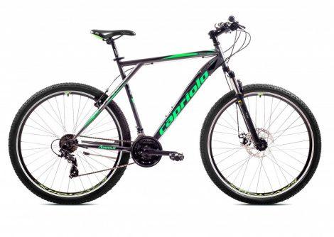"""Capriolo Adrenalin 26"""" gyerek MTB kerékpár 16"""" Grafit-Zöld"""