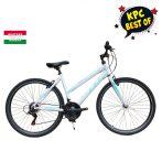 """KPC Roadster Eco Lady alumínium női crosstrekking kerékpár 17"""" Fehér-Menta"""